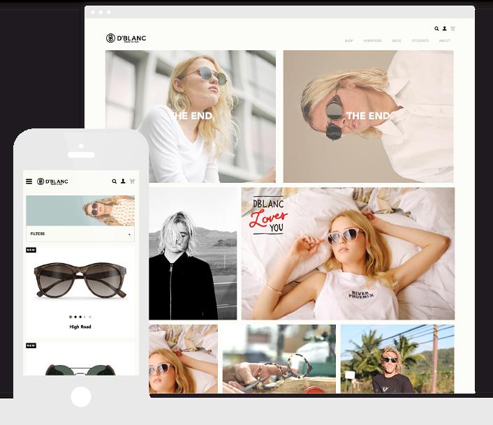 The D'Blanc website